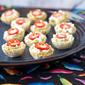 Roasted Jalapeno Hummus Bites