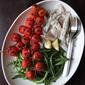 Whole Branzino with Roasted Tomatoes