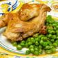 Quaglie coi piselli (Quail Braised with Peas)
