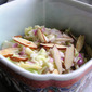 Coleslaw With White Grapes and Almonds