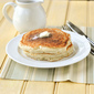 Fluffy Buttermilk Pancakes with Buttermilk-Caramel Syrup