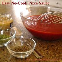 No-Cook Pizza Sauce