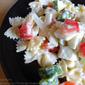 Chilli Pasta, Fennel and Walnut Salad
