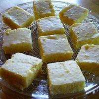 Lemon Pastry Squares (a.k.a Lemon Brownies) - a new take on Lemon Bars!