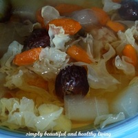 Healthy Aloe Vera and White Fungus Dessert