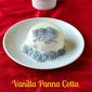 Vanilla Pannacotta Recipe with Basil Seeds | Eggless Desserts