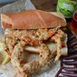 Finger Food Friday: Fried Soft-Shell Crab Poor Boys