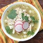 Green Posole with Chicken
