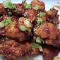 Baked Korean Spicy Chicken Wings