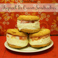 Tropical Ice Cream Sandwiches #FreshNFruti