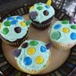 Baby Sea Turtle Cupcakes with Cream Cheese Frosting