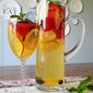 White Sangria for National Moscato Day with Gallo Family Vineyards
