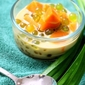 Bubur Cha Cha (Sweet Potato And Sago In Coconut Milk)