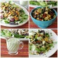 Recipe: Southwest Chicken Salad w/Guacamole Ranch Dressing {A Guest Post from Lisa from Cooking With Curls)