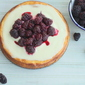 Lemon Cheesecake with Ginger Shortbread Crust
