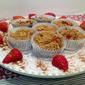 Strawberry Muffins for Mother's Day
