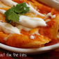 Entomadas (Enchiladas with fresh tomato sauce)-- and the Giveaway Winner Is...