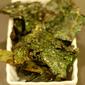 Crunchy Kale Chips With Sea Salt & Sesame Seeds