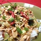 Pad Thai with Spicy Peanut Sauce