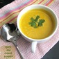 SPICY AND CREAMY PUMPKIN SOUP