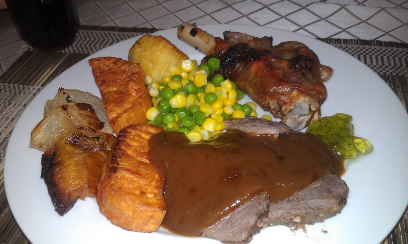 Our Traditional Lamb Roast