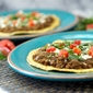 Refried Lentils Tostadas Recipe