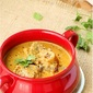 Lamb korma in saffron and almond sauce – fiction to table