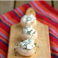 Veggie & Dip Stuffed Mushrooms