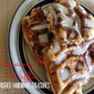 Tasty Tuesday--Cinnamon Roll Waffles