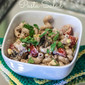 Smoky BBQ Chicken Pasta Salad