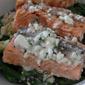 Salmon, Asparagus and Orzo Salad with Lemon Dill Vinaigrette