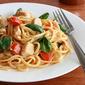 Creamy Pasta with Chicken and Sun-dried Tomato Pesto