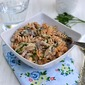 Pasta with Mushrooms and Chipotle Cream Sauce
