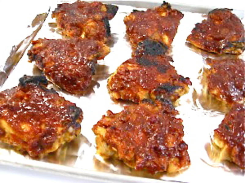 Skinny Good Chicken With Homemade Barbecue Sauce Recipe By Nancy