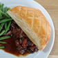 Beef Bourguignon Pie and a book review