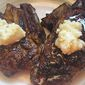 Skillet-Seared, Coffee-Rubbed Lamb Chops with Honey-Butter