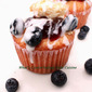 Raspberry and Blueberry Frosted Cupcakes for Memorial Day Recipe
