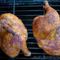 Barbecued Chicken Halves - Brine Recipe