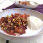 Berry Rhubarb Crisp (Gluten-Free)
