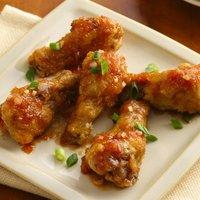 Sticky Ginger Garlic Chicken Wings