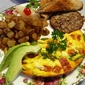 Las Vegas Recipe Guru Summerlin Tomato and Basil Frittata