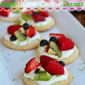 Fruit Basket Mini Sugar Cookie Pizzas {June Dairy Month}