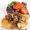 Pan Fried Redfish Recipe with Sautéed Shiitake Mushrooms and Purple Potato Salad