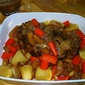 Pork Pot Roast with Vegetables and Apples