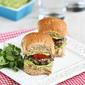Black Bean Sliders Recipe with Creamy California Avocado Sauce