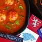 Red Wedding Soup (SPOILER ALERT) for your Game of Thrones Finale Party