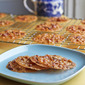 Bacon Lace Cookies