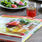Arugula Salad with Watermelon Vinaigrette and an interview with author Michele Anna Jordan