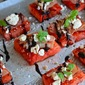 Finger Food Friday: Grilled Watermelon with Prosciutto and Feta