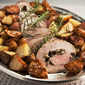 Roast Pork Loin and Potatoes with Rosemary and Garlic